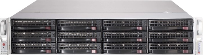 Supermicro SuperChassis 826BE1C-R741JBOD schwarz, 2HE, 740W redundant [Subsystem] (CSE-826BE1C-R741JBOD)