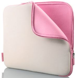 """Belkin neoprene sleeve 17"""" light grey/pink (F8N049eaDK)"""