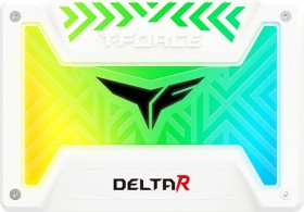 TeamGroup T-Force Delta R RGB SSD white 1TB, SATA (T253TR001T3C415/T253TR001T4C415)
