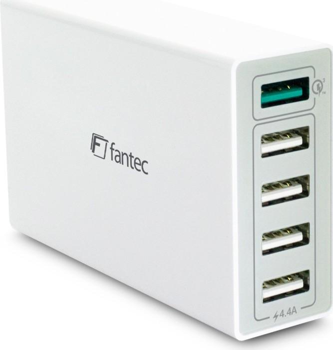 Fantec QC3-A51 Quick Charge 5-Port USB Schnellladegerät (1954)
