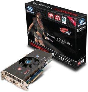 Sapphire Radeon HD 4870 Sapphire-Design, 512MB GDDR5, 2x DVI, TV-out, PCIe 2.0, full retail (11133-03-40R)