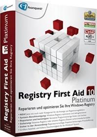 Avanquest Registry First Aid 10.0 Platinum (deutsch) (PC)