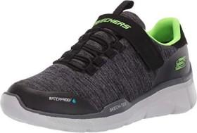 Skechers Relaxed Fit Equalizer 3.0 Aquablast schwarz/grau (Junior) (97925-BKCC)