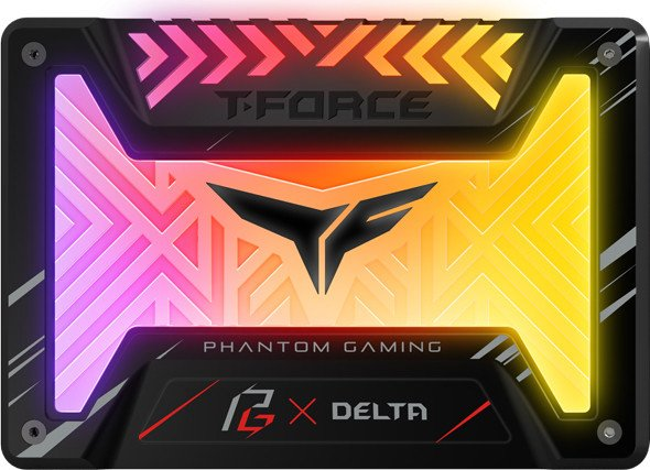 TeamGroup T-Force Delta Phantom Gaming RGB SSD 500GB, SATA (T253PG500G3C313)