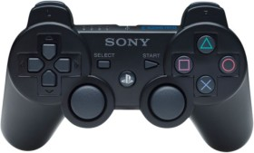 Sony DualShock 3 Controller wireless schwarz (PS3)