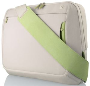 """Belkin Kurier messenger bag 15.4"""" light grey/light green (F8N050eaKN)"""
