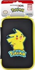 Hori Pikachu Hard Pouch Bag for Nintendo 3DS XL black/yellow (DS)