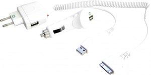 Gembird Universal USB-Ladegerät weiß (MP3A-UC-AC3)