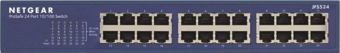 Netgear ProSAFE JFS500 Desktop Switch, 24x RJ-45 (JFS524)