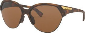 Oakley Trailing Point matte brown tortoise/prizm tungsten polarized (Damen) (OO9447-0565)