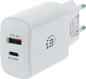 Manhattan Power Delivery USB-Ladegerät 27W weiß (102131)