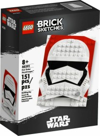 LEGO Brick Sketches - First Order Stormtrooper (40391)