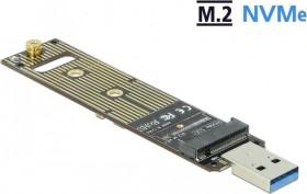 DeLOCK Converter M.2 NVMe PCIe SSD auf USB-A 3.1 (64069)