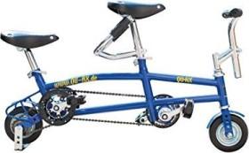 QU-AX Minibike Tandem blau