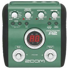 ZoomA2 multi effects unit for acoustic instruments