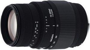 Sigma AF 70-300mm 4.0-5.6 DG Makro mit AF-Motor für Nikon F schwarz (5A9955)