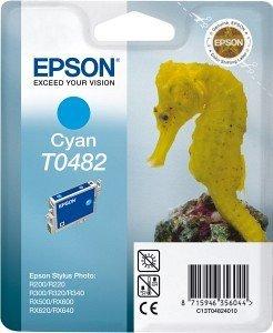 Epson T0482 tusz błękitny (C13T04824010)