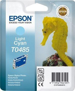 Epson T0485 ink cyan light (C13T04854010)