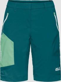 Jack Wolfskin Overland Shorts Hose kurz dark spruce (Damen) (1506161-4065)