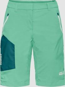 Jack Wolfskin Overland Shorts Hose kurz pacific green (Damen) (1506161-4076)