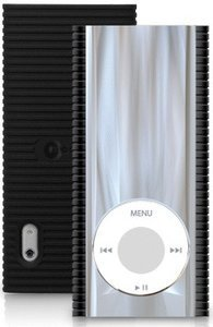 Macally Mirage verspiegeltes Chrom-Case für iPod nano 5G (MirageN5)