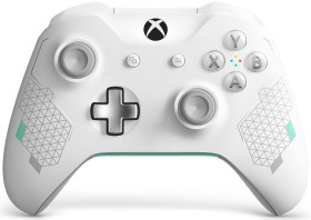 Microsoft Xbox One Wireless Controller Sport White Special Edition (Xbox One/PC) (WL3-00083)