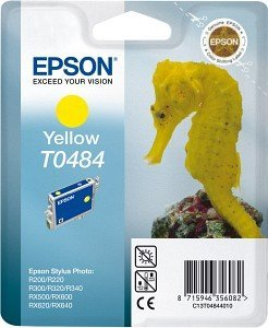 Epson T0484 ink yellow (C13T04844010)