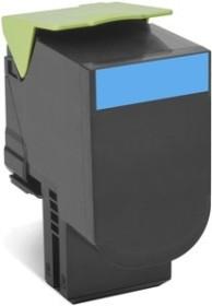 Lexmark Toner 800X2 cyan extra hohe Kapazität (80C0X20)