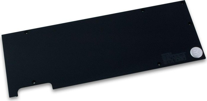 EK Water Blocks EK-FC1080 GTX Backplate schwarz