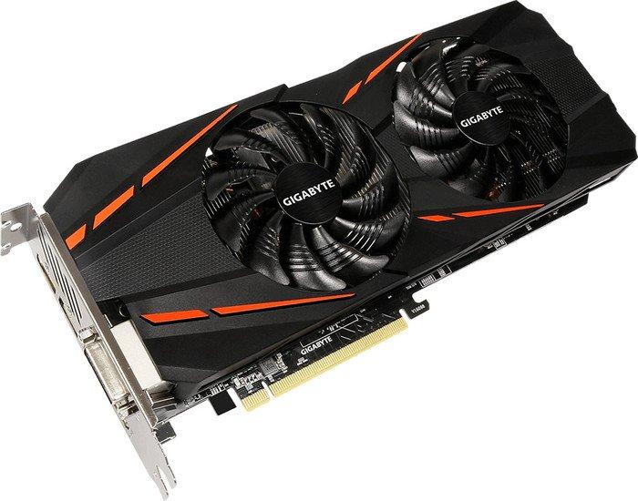 Gigabyte GeForce GTX 1060 D5 3G (Rev. 2.0), 3GB GDDR5, DVI, HDMI, 3x DisplayPort (GV-N1060D5-3GD)