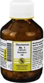 Nestmann Biochemie 1 Calcium fluoratum D6 Tabletten, 400 Stück