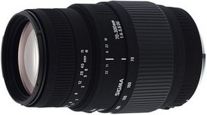 Sigma AF 70-300mm 4.0-5.6 DG Makro für Nikon F schwarz (509944)