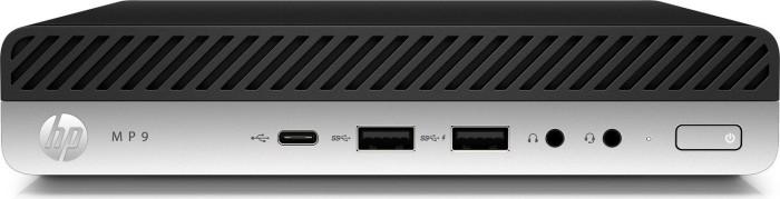 HP MP9 G4 POS-System, Core i5-8500T, 8GB RAM, 256GB SSD, WLAN, Windows 10 IoT (4VZ83EA#ABD)