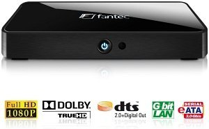 Fantec S3600 Web media player, Gb LAN (1524)