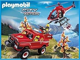 playmobil City Action - Feuerwehr-Waldbrandeinsatz (9518)