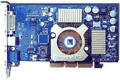 Albatron FX5600EQ, GeForceFX 5600, 256MB DDR, DVI, TV-out, AGP