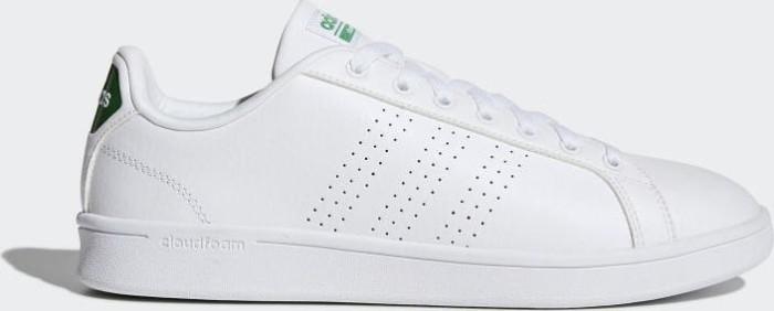 best website 16ddd 9e358 adidas Cloudfoam Advantage footwear whitegreen (Herren) (AW3914)