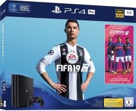 Sony PlayStation 4 Pro - 1TB FIFA 19 Bundle schwarz (9745112)