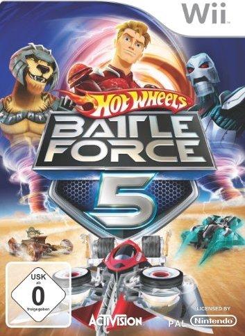 Hot Wheels - Battle Force 5 (German) (Wii) -- via Amazon Partnerprogramm