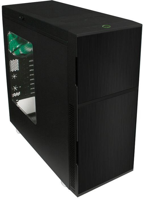Nanoxia Deep Silence 1 schwarz, Acrylfenster, schallgedämmt (NXDS1BW)