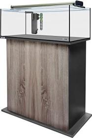 sera AquaTank 96l fiXture Aquarium-Set mit 80cm Unterschrank, Walnut (32453)