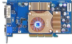 Albatron FX5600U, GeForceFX 5600 Ultra, 128MB DDR, DVI, TV-out, AGP