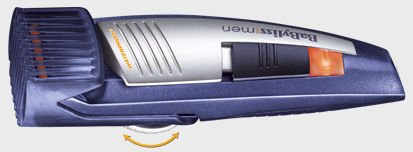 BaByliss E843E beard/hair trimmer rechargeable battery/mains operation