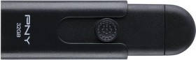 PNY OTG Duo-Link Prime 3.0 32GB, USB-A 3.0/USB 2.0 Micro-B (FD32GOTGPRIK-EF)