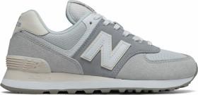 New Balance 574 light slate/light aluminum (ladies) (WL574LBR)