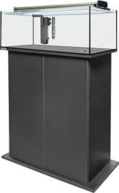 sera AquaTank 96l fiXture Aquarium-Set mit 90cm Unterschrank, Black (32455)