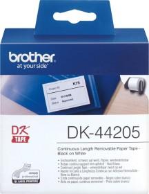 Brother DK-44205 Endlosetiketten ablösbar, 62mm, weiß, 1 Rolle (DK44205)