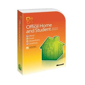 Microsoft: Office 2010 Home and Student, PKC (English) (PC) (79G-02020)