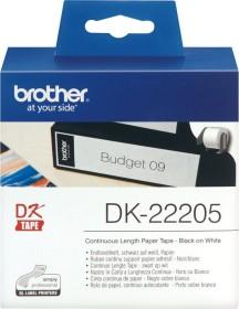 Brother DK-22205 Endlosetikette, 62mm, weiß, 1 Rolle (DK22205)