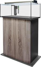sera AquaTank 96l fiXture Aquarium-Set mit 90cm Unterschrank, Walnut (32459)